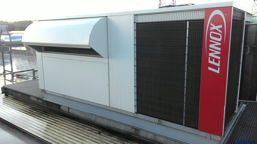 Climatisation Roof Top site industriel