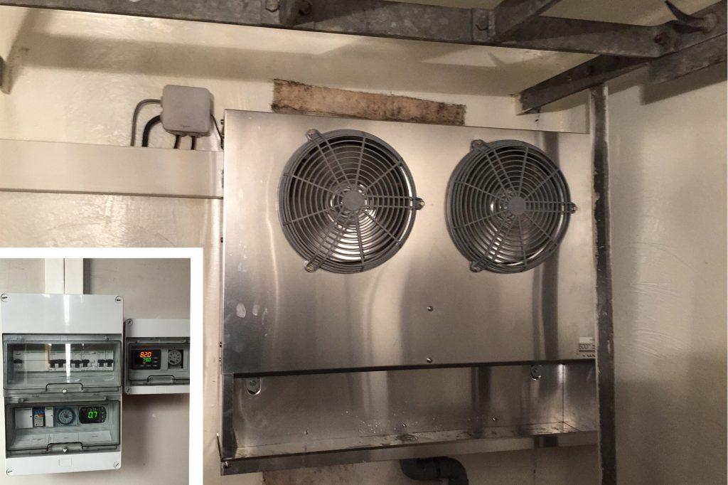 Installation équipement frigorifique pour boucherie
