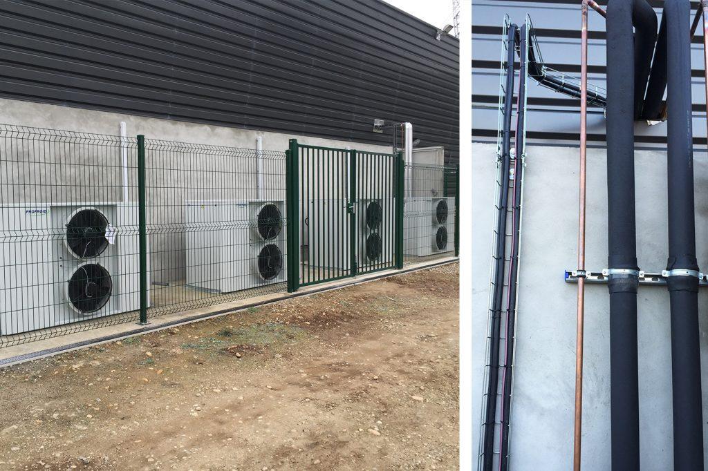Installation équipement frigorifique R134A avec détenteur électrique et HP flottante