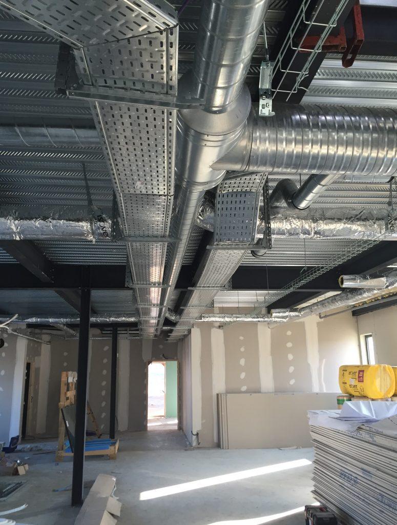 Réseau de ventilation pour VMC double flux haut rendement.